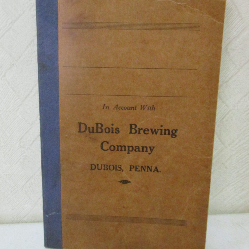 103: DuBois Brewing Small Accounting Book