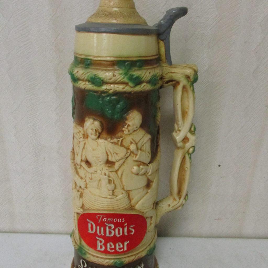 Lot 123: DuBois Budweiser Beer Stein