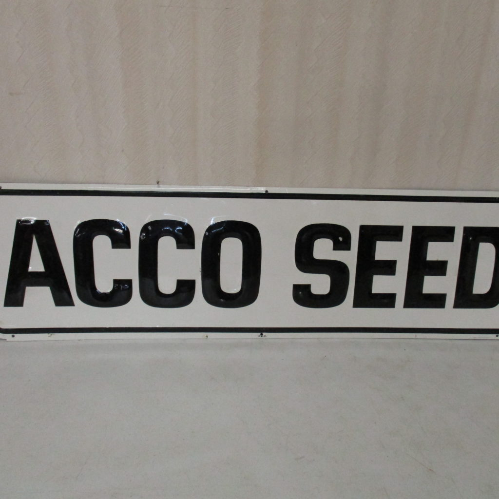Lot 129: ACCO Seed Sign - SST