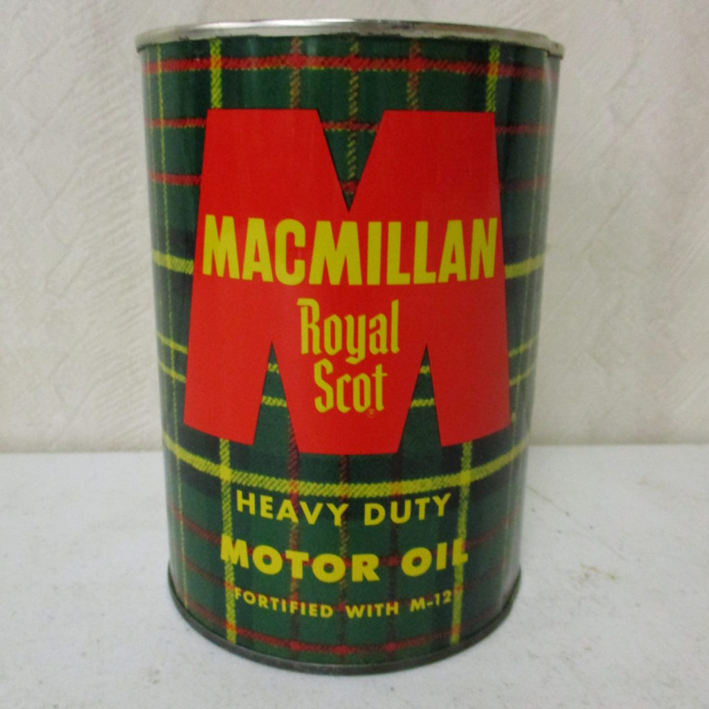 Lot 139: Macmillan Quart Oil Can