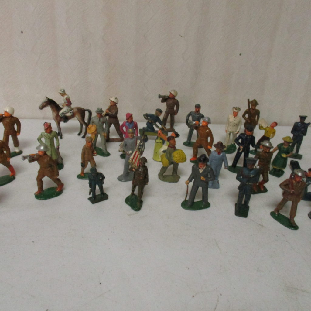 Lot 141: Lead Soldiers And Other Lead Figures