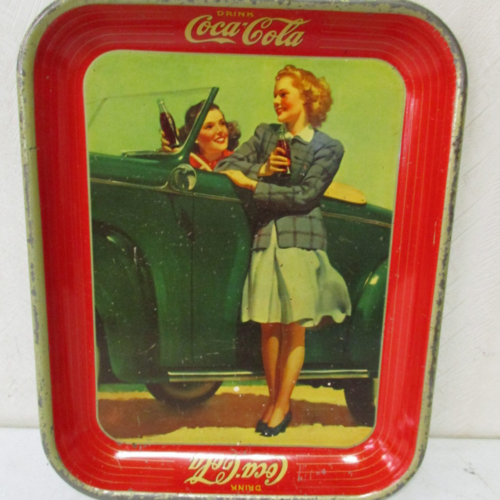 Lot 151: Coca-Cola Tray