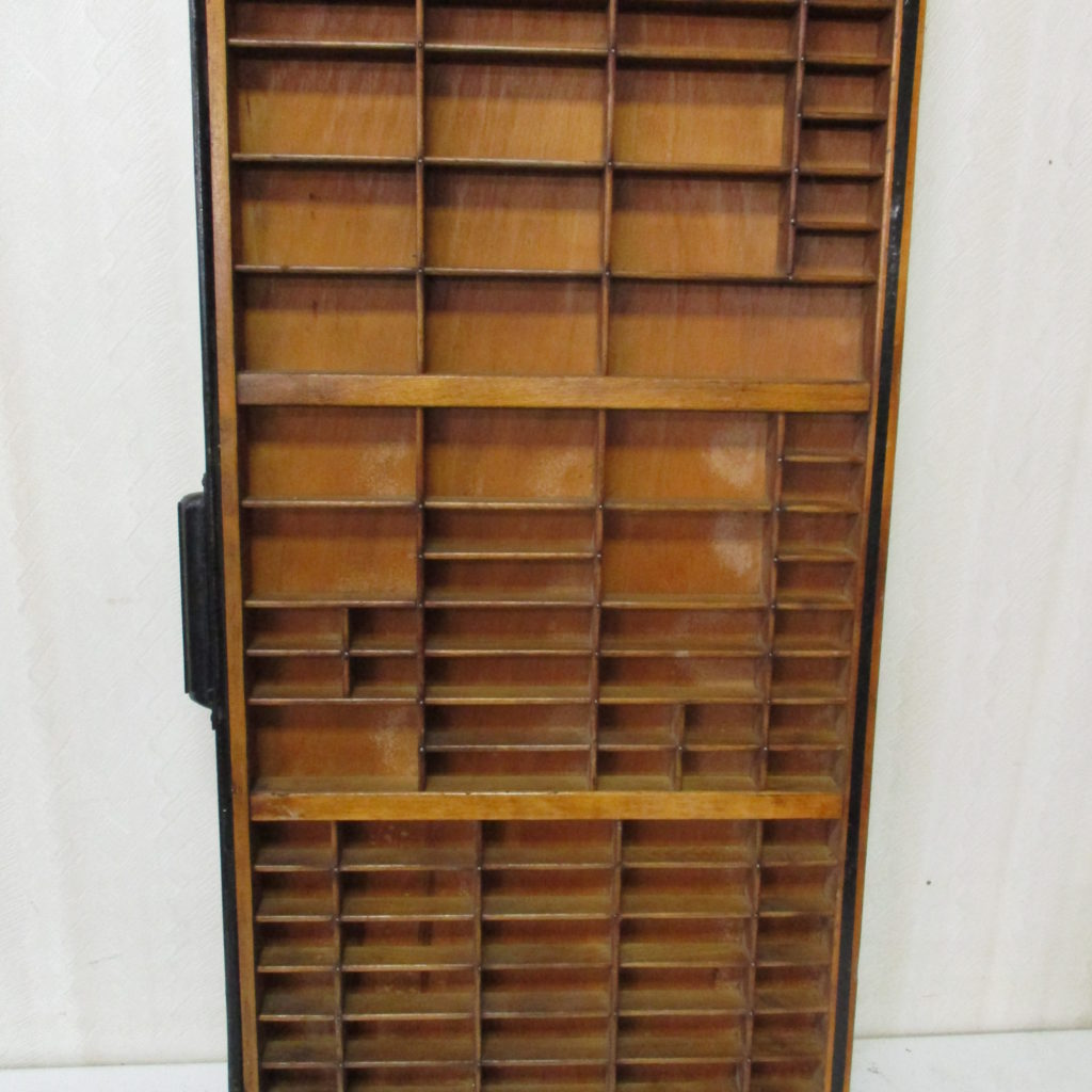 Lot 168: Vintage Printer's Drawer