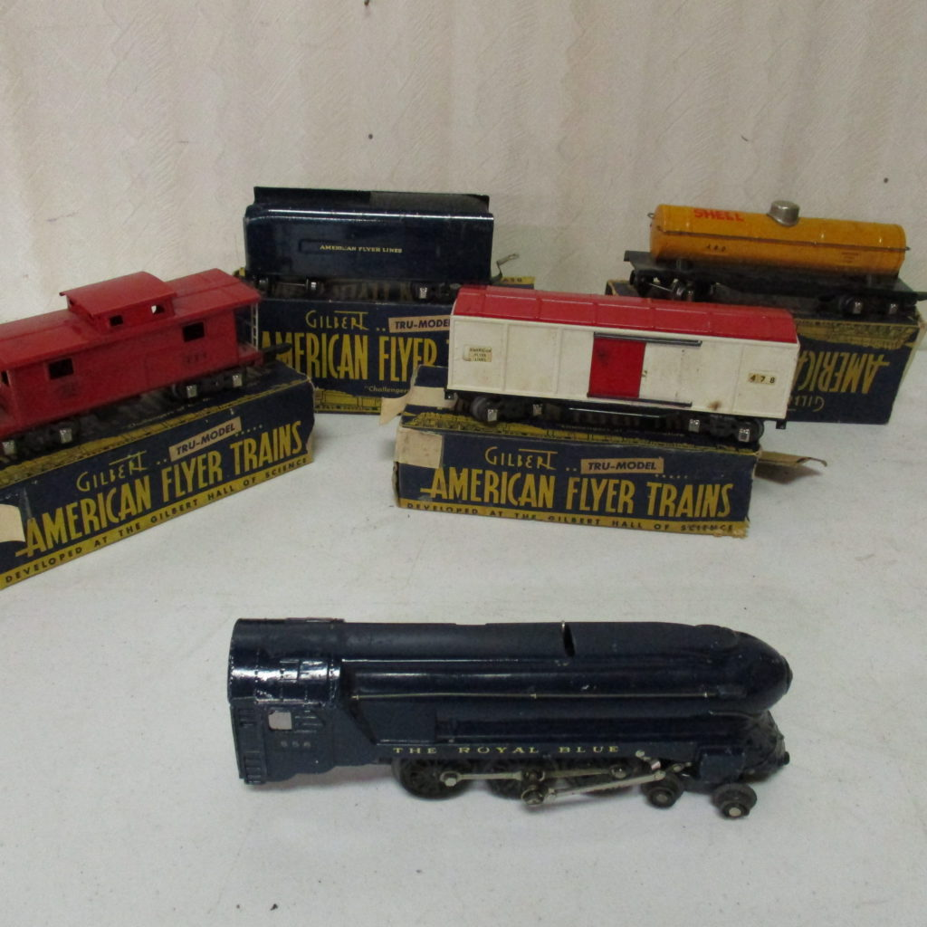 Lot 169: American Flyer Train Set With Track