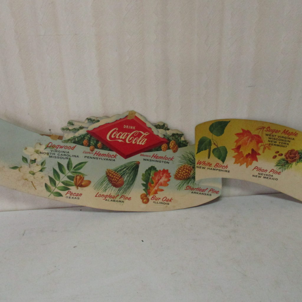 Lot 170: Coca-Cola Cardboard State Tree Display