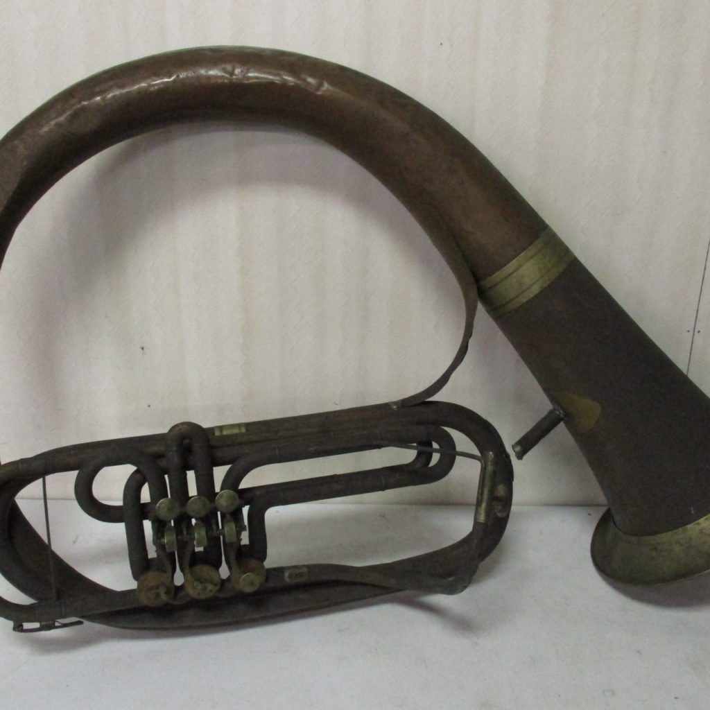 Lot 190: Large Antique Helicon (possible Civil War Era)