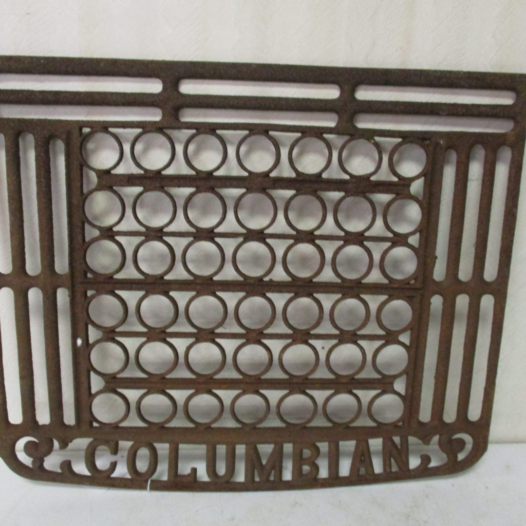 Lot 192: Columbian Decorative Stove Rack