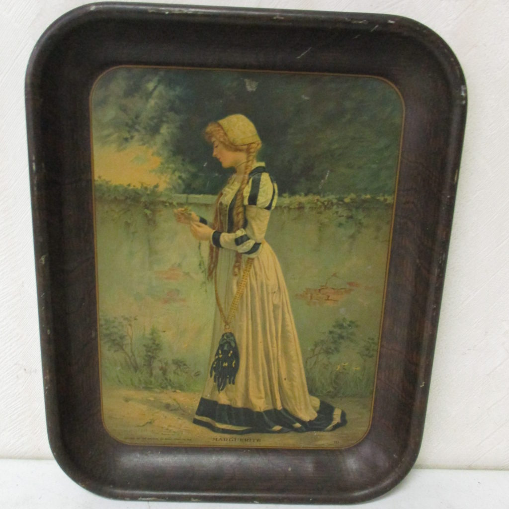Lot 206: Marguerite Serving Tray