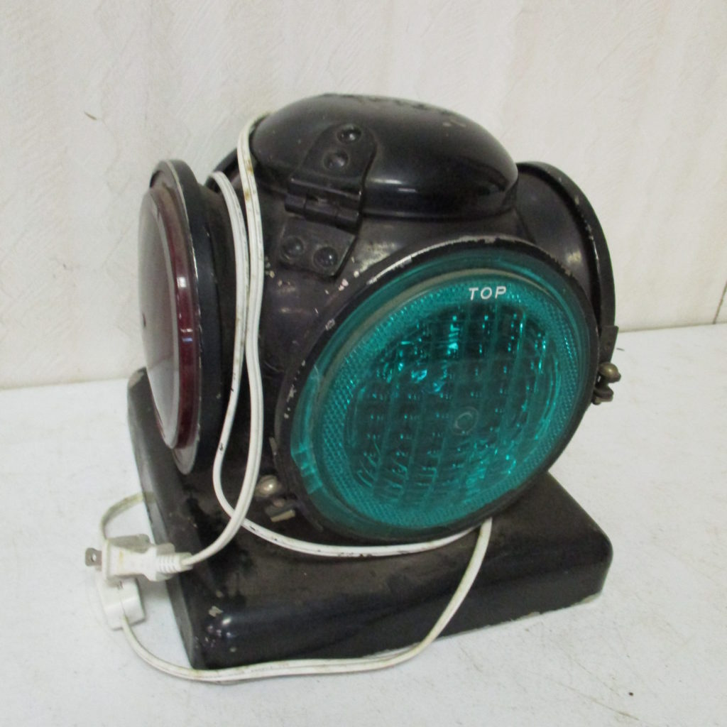 Lot 216: Adlake Railroad Signal Lamp