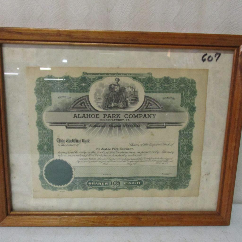 Lot 219: 1917 Coal Mining Certificate