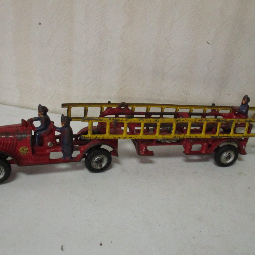 Lot 238: Arcade Cast Iron Ladder Truck