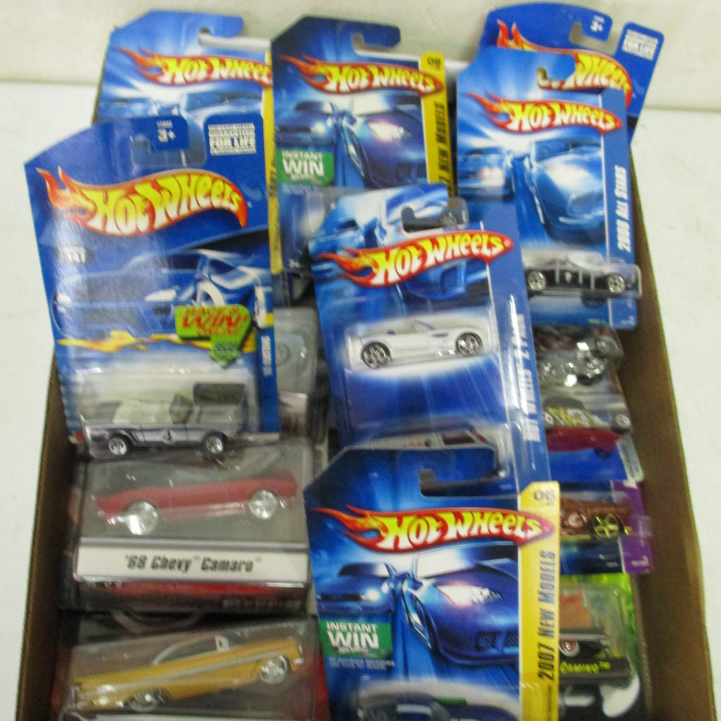 Lot 241: Hot Wheels On Card Lot