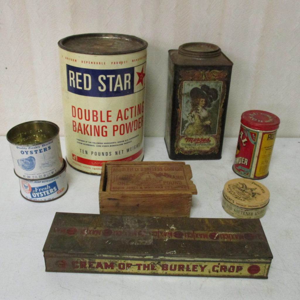 Lot 243: Flat Of Misc Tins