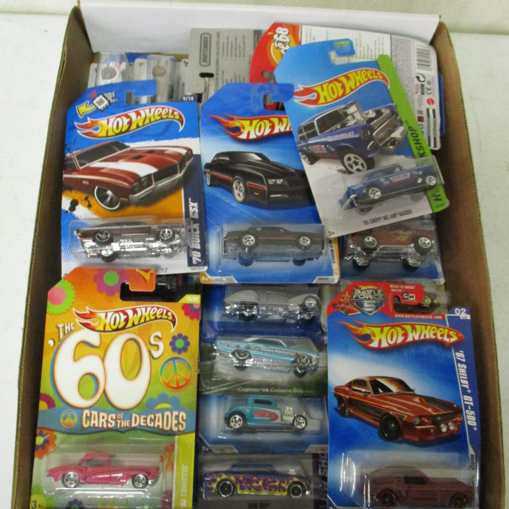 Lot 254: Hot Wheels On Card Lot