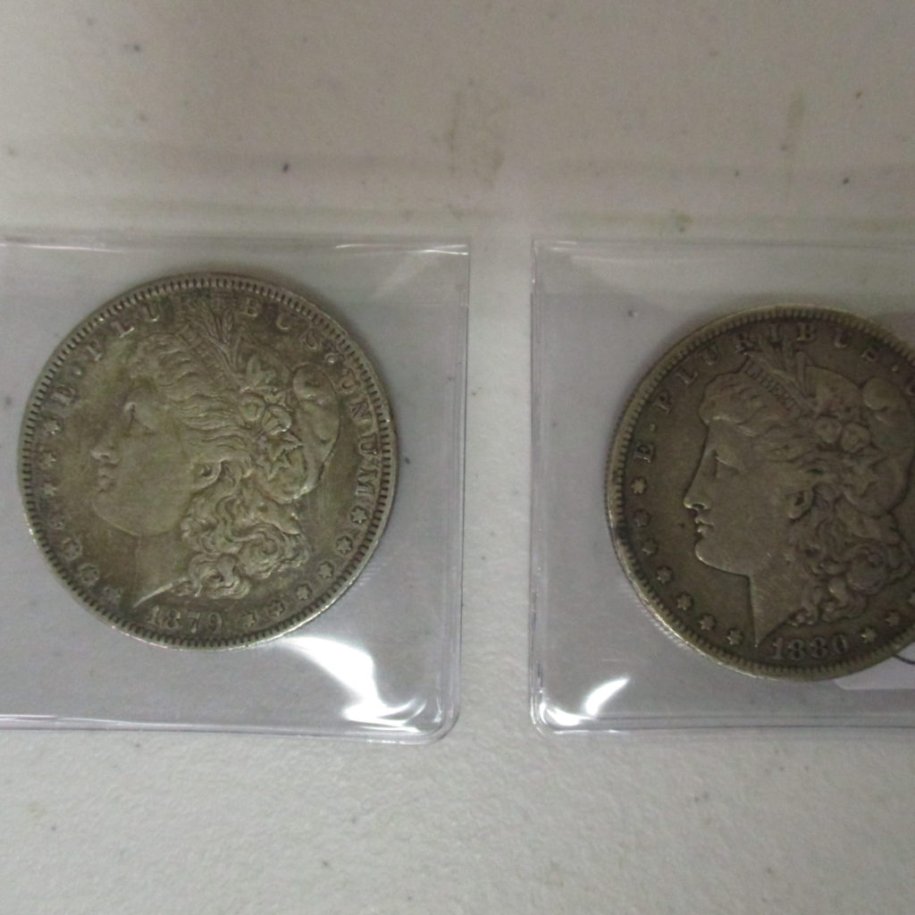 Lot 28: 1879 And 1880S Morgans (by The Piece, Take 2)