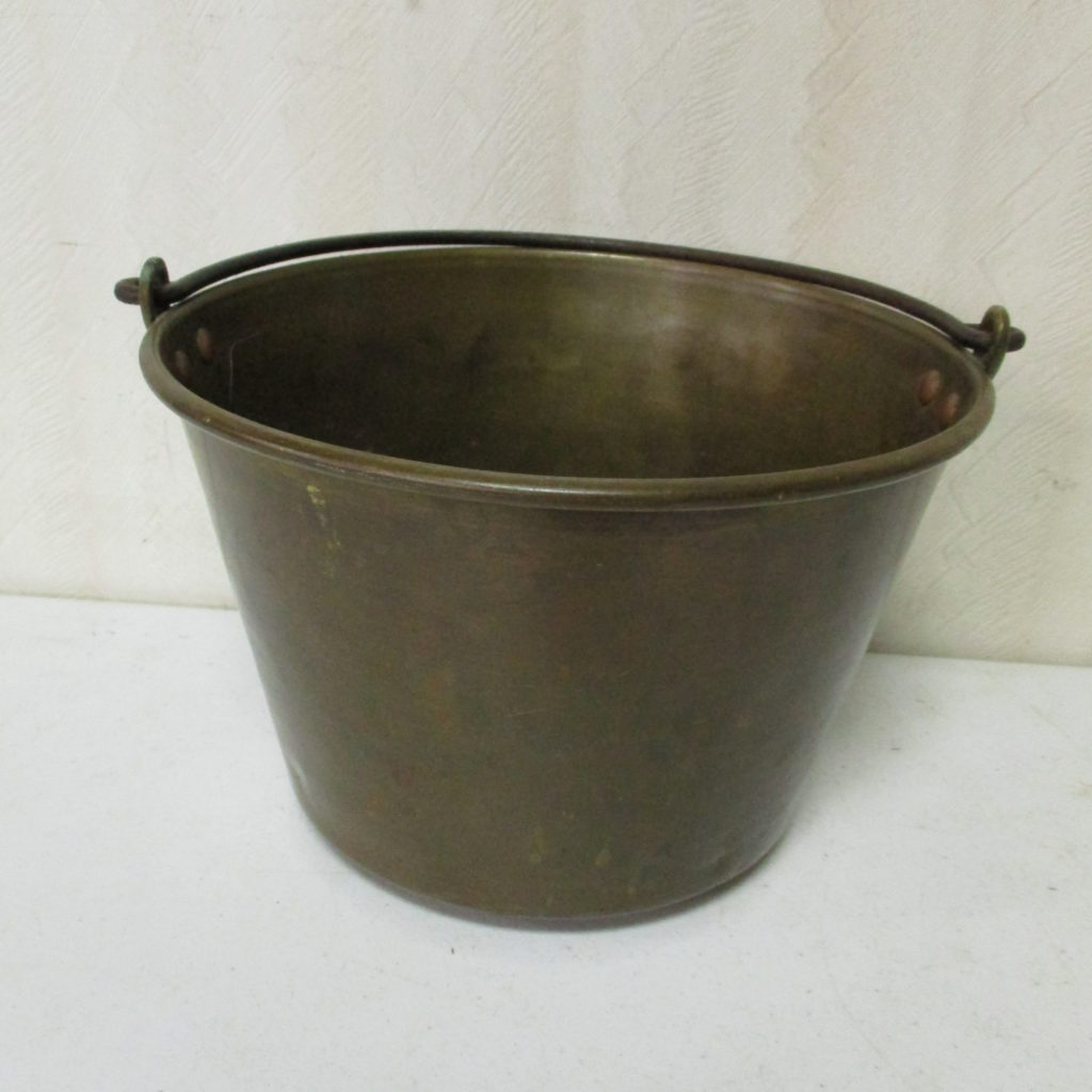 Lot 64: Small Brass Bucket