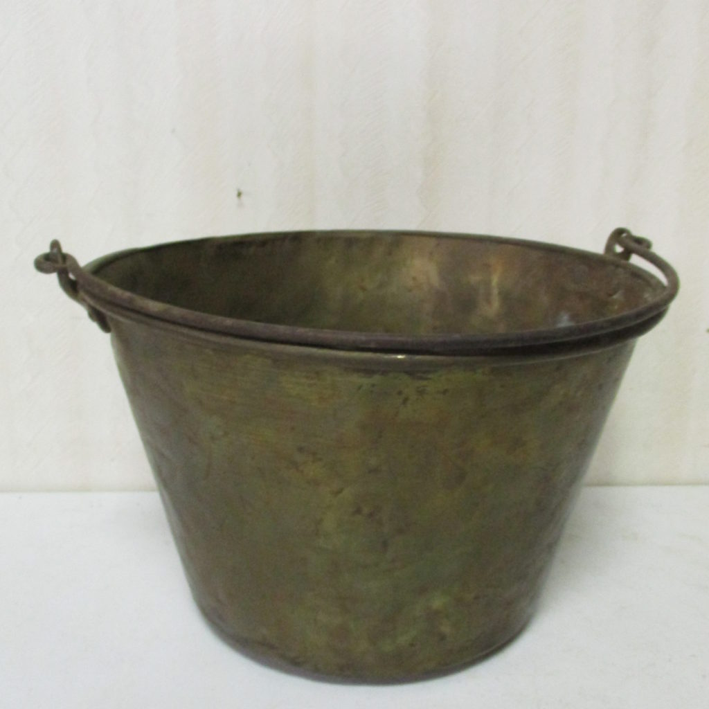 Lot 72: Brass Bucket
