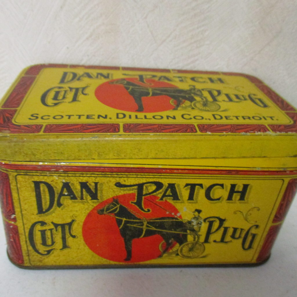 Lot 74: Dan Patch Tobacco Tin
