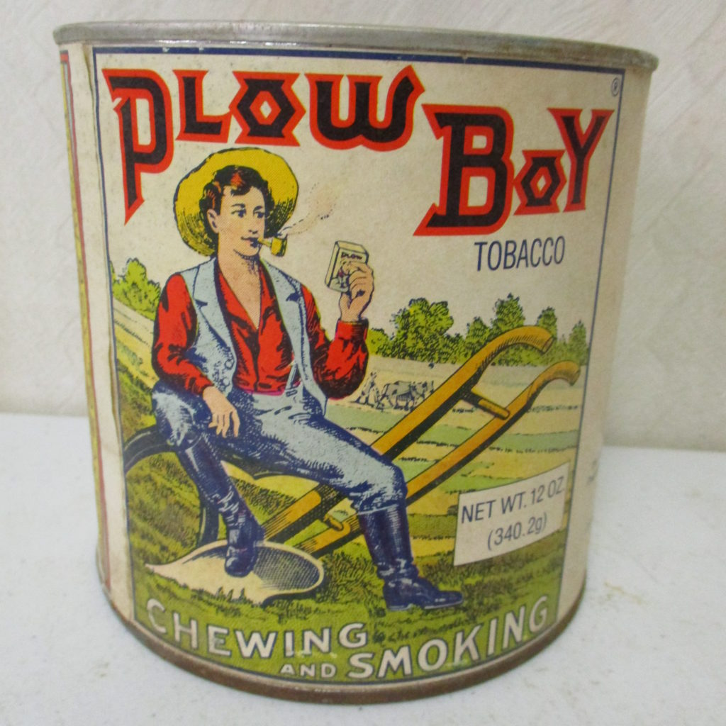 Lot 76: Plowboy Tobacco Container