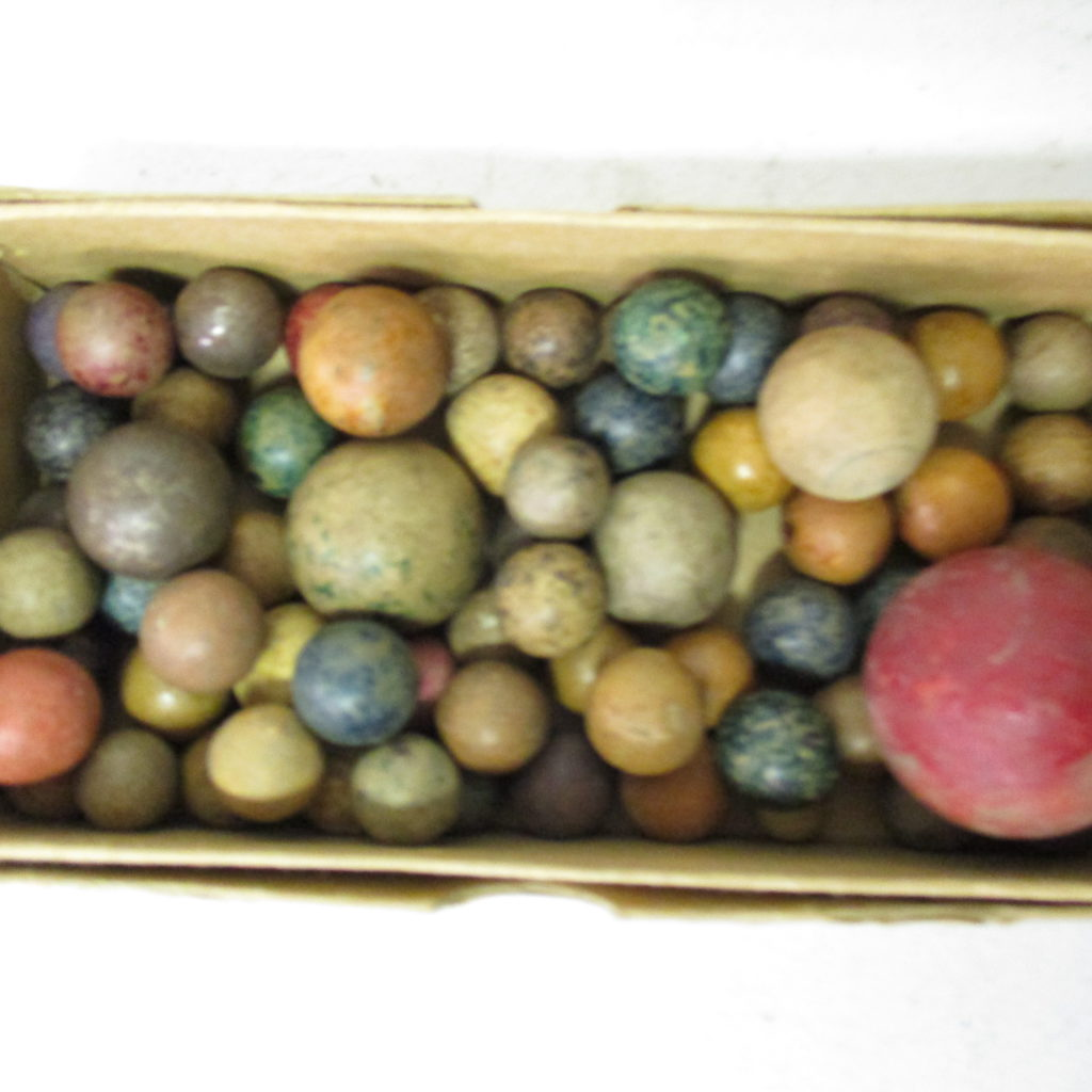 Lot 77: Clay Marbles