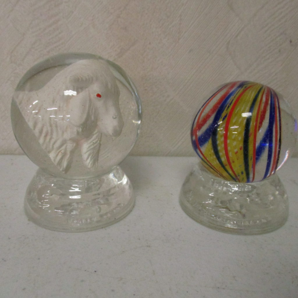 Lot 79: (2) Large Marbles