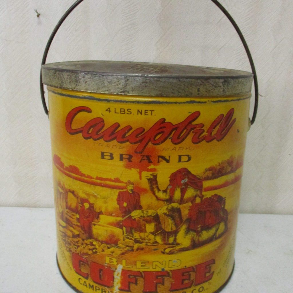 Lot 80: Campbell's Coffee Tin