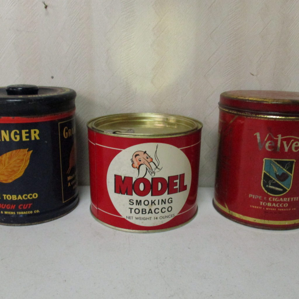 Lot 83: Velvet, Model And Granger Tobacco Tins