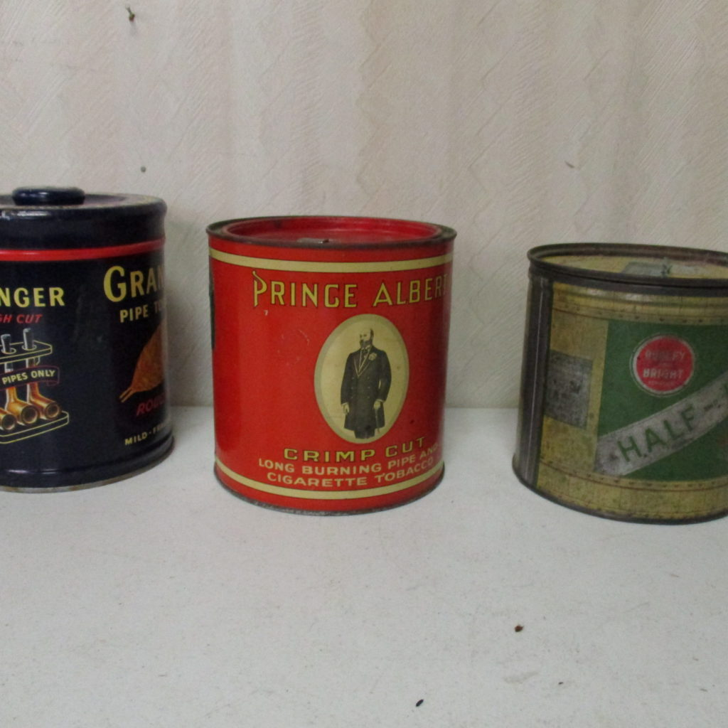 Lot 87: Prince Albert, Half And Half And Granger Tobacco Tins