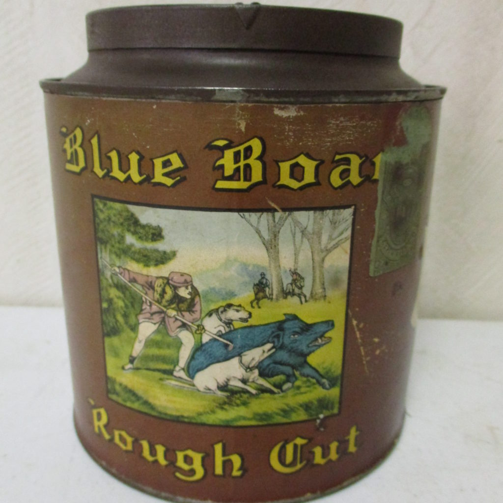 Lot 91: Blue Boar Tobacco Tin