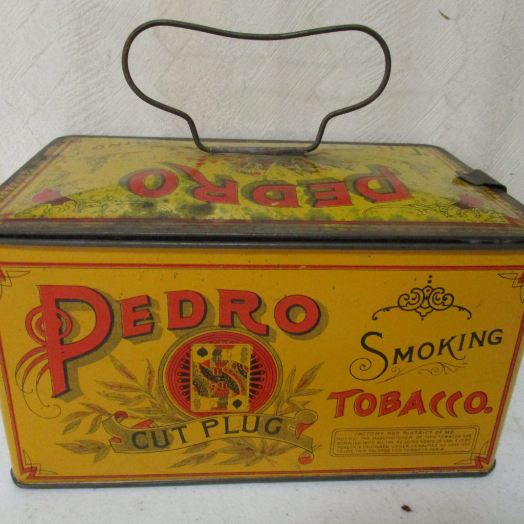 Lot 95: Pedro Tobacco Tin
