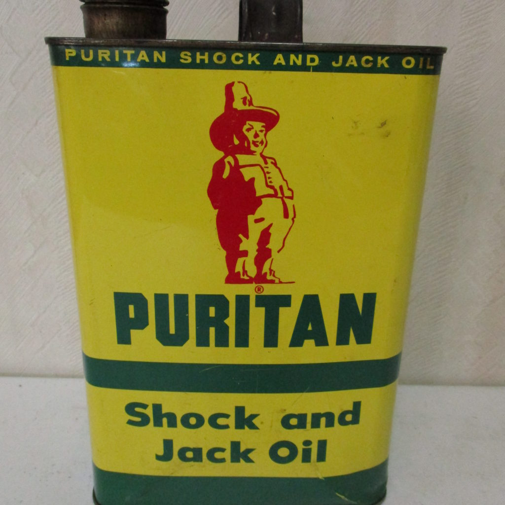 Lot 97: Puritan Shock And Jack Oil 1 Gal Can