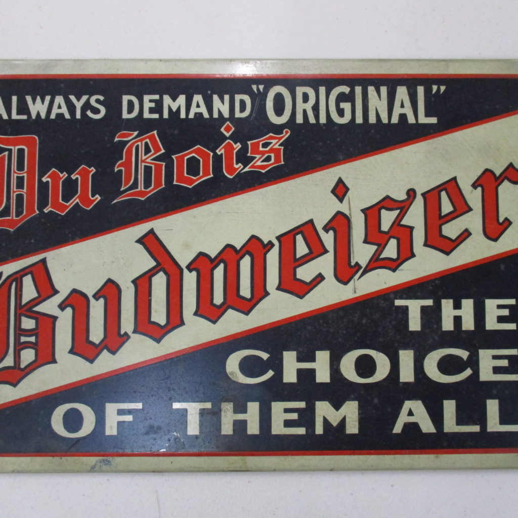 DuBois Budweiser Sign