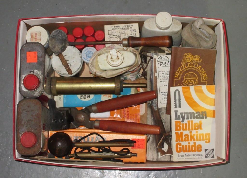 50 Cal Flintlock Tools – Powder & Accessories