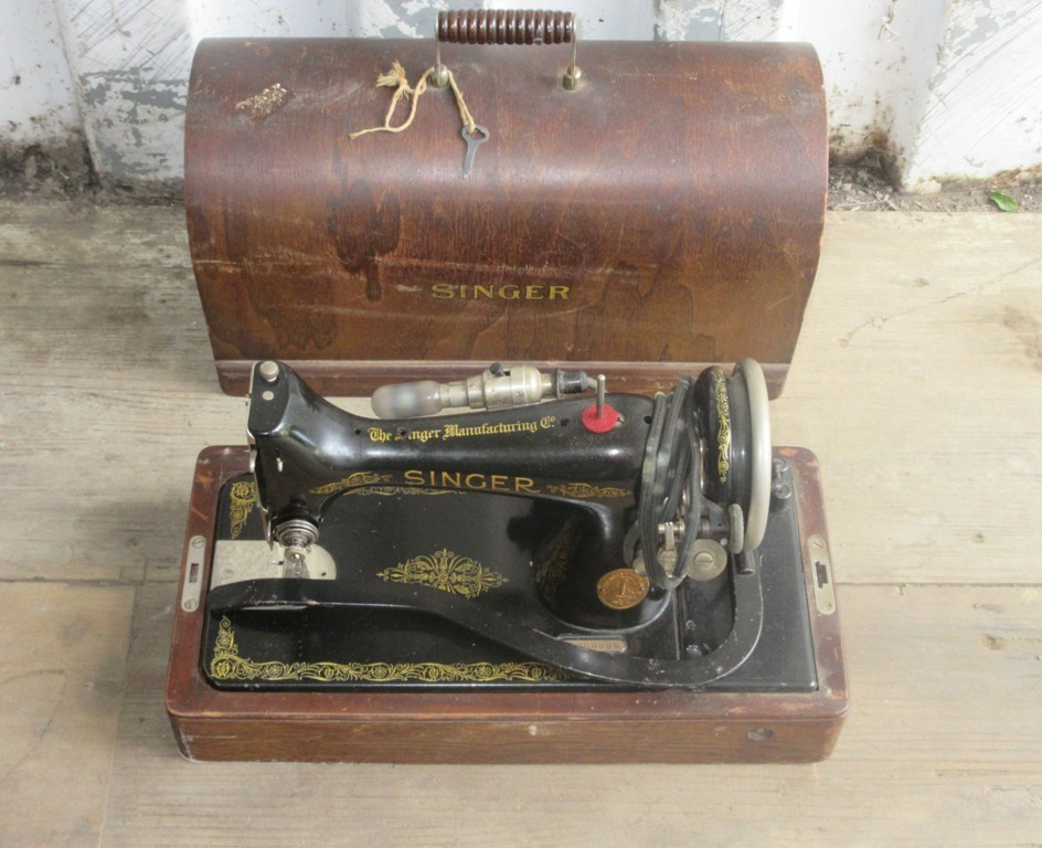Early Singer Sewing Machine