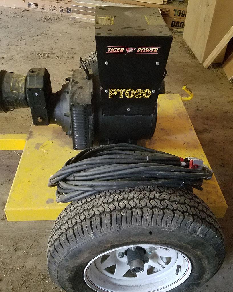 Tiger Power 20kW PTO Generator 3 Resized