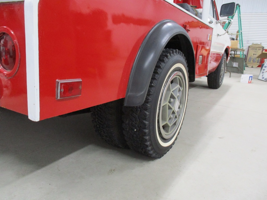 Rear Dual Wheels